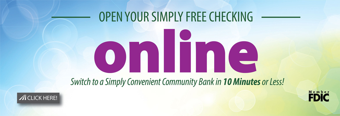 Open your simply free checking account online